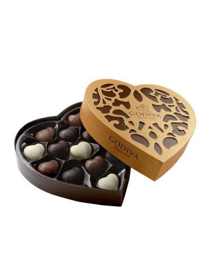 Send indulgent luxury chocolates with flowers with WUD Flowers, Dubai.