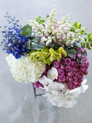 Create something unique with bespoke designs from WUD Flowers, Dubai