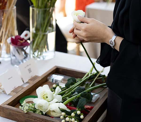 Perfect floral arrangements from WUD Flowers, Dubai
